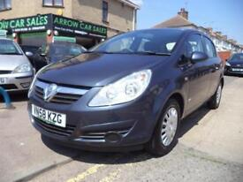 2009 VAUXHALL CORSA 1.2 LIFE 5DR, GOOD AND BAD CREDIT FINANCE AVAILABLE