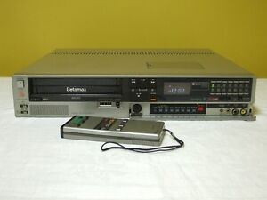 Sony SL-2410 Betamax bII and bIII with Remote