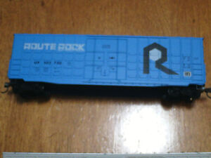 HO scale Route Rock boxcar for electric model trains