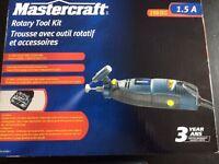 Trousse outil rotatif 250 pieces rotary tool kit Mastercraft New