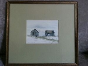 Original Watercolour Painting - Listed Artist Robert J. Anderson