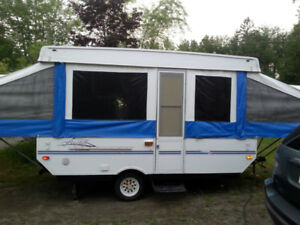 2003 forest river pop up tent trailer in very good condition