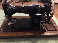 Vintage Electric Singer Jones sewing machine