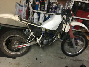 1991 Yamaha Dt200r project Bike