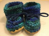 Padraig baby slippers booties shoes