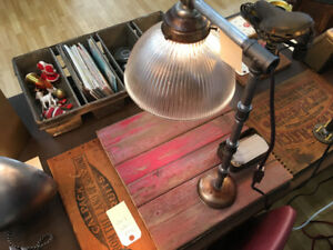 Vintage steampunk lamp