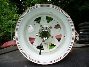 White Spoke Rims 5.5 Bolt