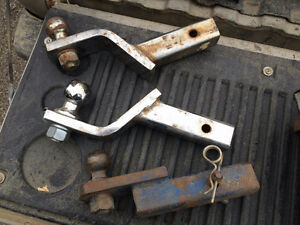 Assorted trailer hitches