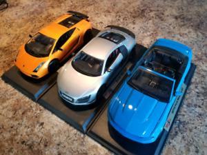 Diecast 1/18 à vendre Audi r8 lamborghini Mustang