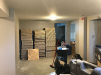 Looking for Someone to Mud & Tape a Basement