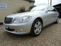 MERCEDES BENZ S320 3.0TD 7G-Tronic LWB,ONLY 58K MILES FULL SERVICE HISTORY