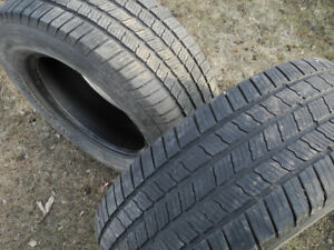P275/65R18 Michelin LTX M/S 2 pair of quite nice tires!