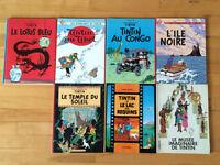 Livres de Tintin