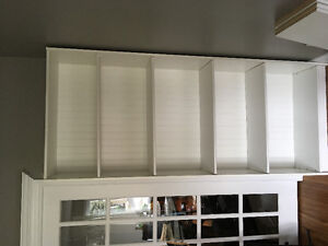 White Uesd Bookcases
