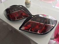 Astra H 3 door rear lights