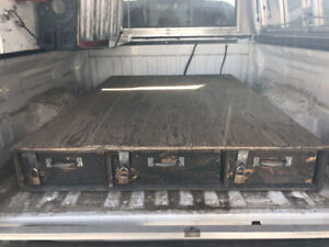Tool box for truck bed.  Perfect for all trades.