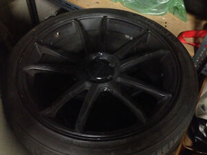 "22"" concavo rims and tires"