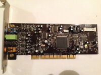 CARTE de SON SOUND BLASTER compatible WINDOWS SEVEN