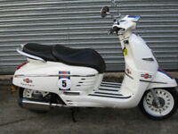 Peugeot Django 125cc Martini Scorpion exhaust brand new