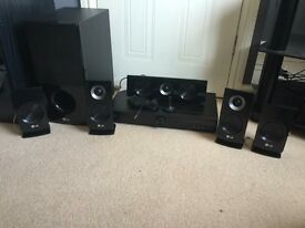 LG Surround Sound Receiver System