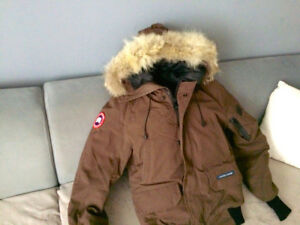 Canada Goose - Chilliwack Bomber Caribou Brown