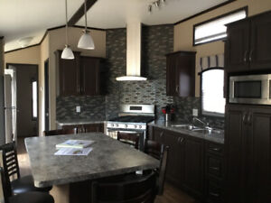 Mobile home cottage rental  on the Ottawa River