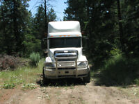 2010 Freightliner Columbia tri drive
