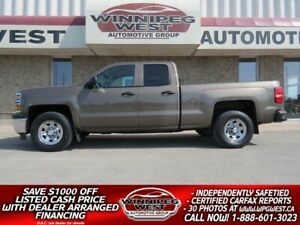 2014 Chevrolet Silverado 1500 LS 5.3L ECOTEC V8 4X4, LOW LOCAL K