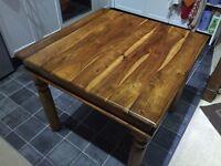 Beautiful solid wood mini dining/breakfast table/desk