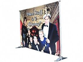 Pegasus Banner Indoor Stand and Bag (Stand only, no graphics)