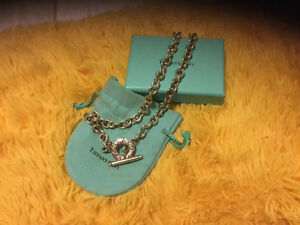 Authentic Return to Tiffany's silver chain Necklace Strathcona County Edmonton Area image 1