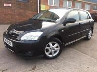 Toyota Corolla 1.4 VVT-i Colour Collection Manual Petrol 5 Door Black 1 P Owner
