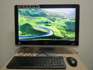 New 21.5 22 Acer All-in-one Desktop Computer Office 2019 1080FHD