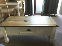 Pine coffee table, good condition