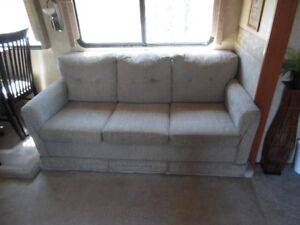 "RV- Trailer  Sofa /  Bed     ""REDUCED PRICE "" Now free to a good"
