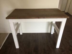 Bureau travail bois de grange diy corner desk things i would like