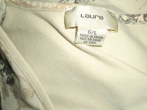 Ladies Size L/G 3/4 Sleeve Dressy Cotton Shirt by Laura Kingston Kingston Area image 4