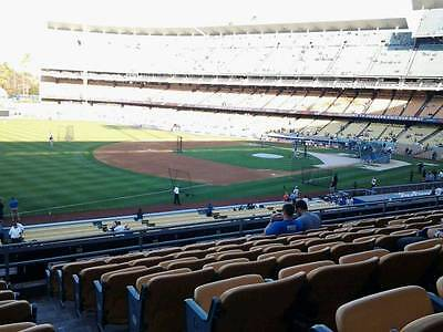 2 Tickets Los Angeles Dodgers v. Philadelphia Phillies 4/29 Sat Loge 153 Seager