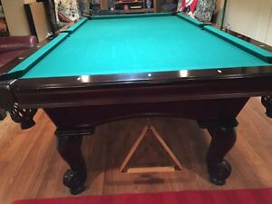 4 x 8 Olhausen slate Pool Table