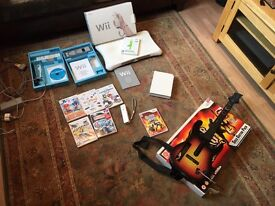 WII // GUITAR HERO // WII FIT + Various other games