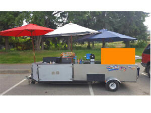BE YOUR OWN BOSS with a mobile Food Trailer
