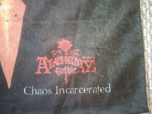 1998 Alchemy Gothic Chaos Incarcerated Fabric Poster Tapestry Prince George British Columbia image 2