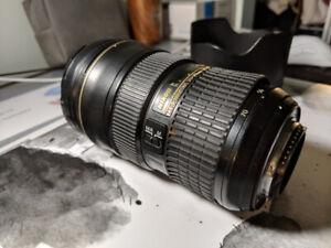 Nikon lenses AF-S Nikkor 24-70 mm 1:2.8 G