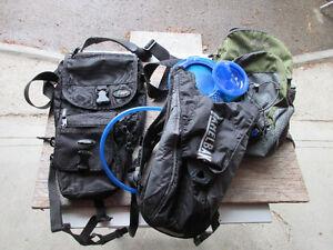 Camelback for kids, MEC backpack