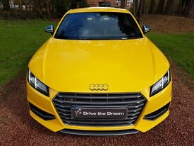 Audi TTS 2015 Vegas yellow low millage immaculate condition