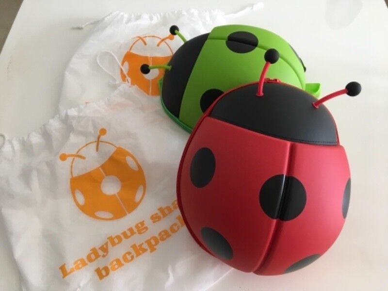 BNIB Ladybug Shaped Toddler Backpack