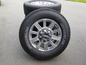 """2019 FORD F350 SUPERDUTY LIMITED 20"""" FACTORY WHEELS & MICHELINS"""