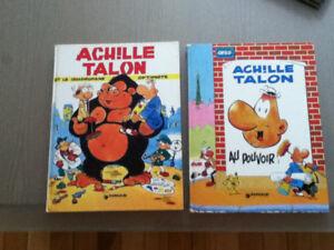 BD : Achille Talon & Tara Takata