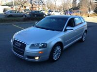 2007 AUDI A3 2.0T  AUTOMATIC TOIT PANORAMIC SUPERBE