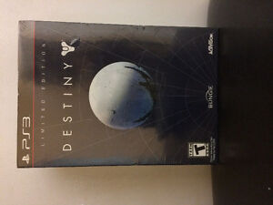Factory Sealed PS3 Destiny Special Edition